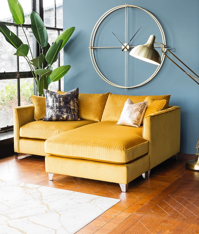 Your Essential Guide To Harvey Norman's New Interiors Regarding 2019 4pc French Seamed Sectional Sofas Oblong Mustard (View 4 of 20)