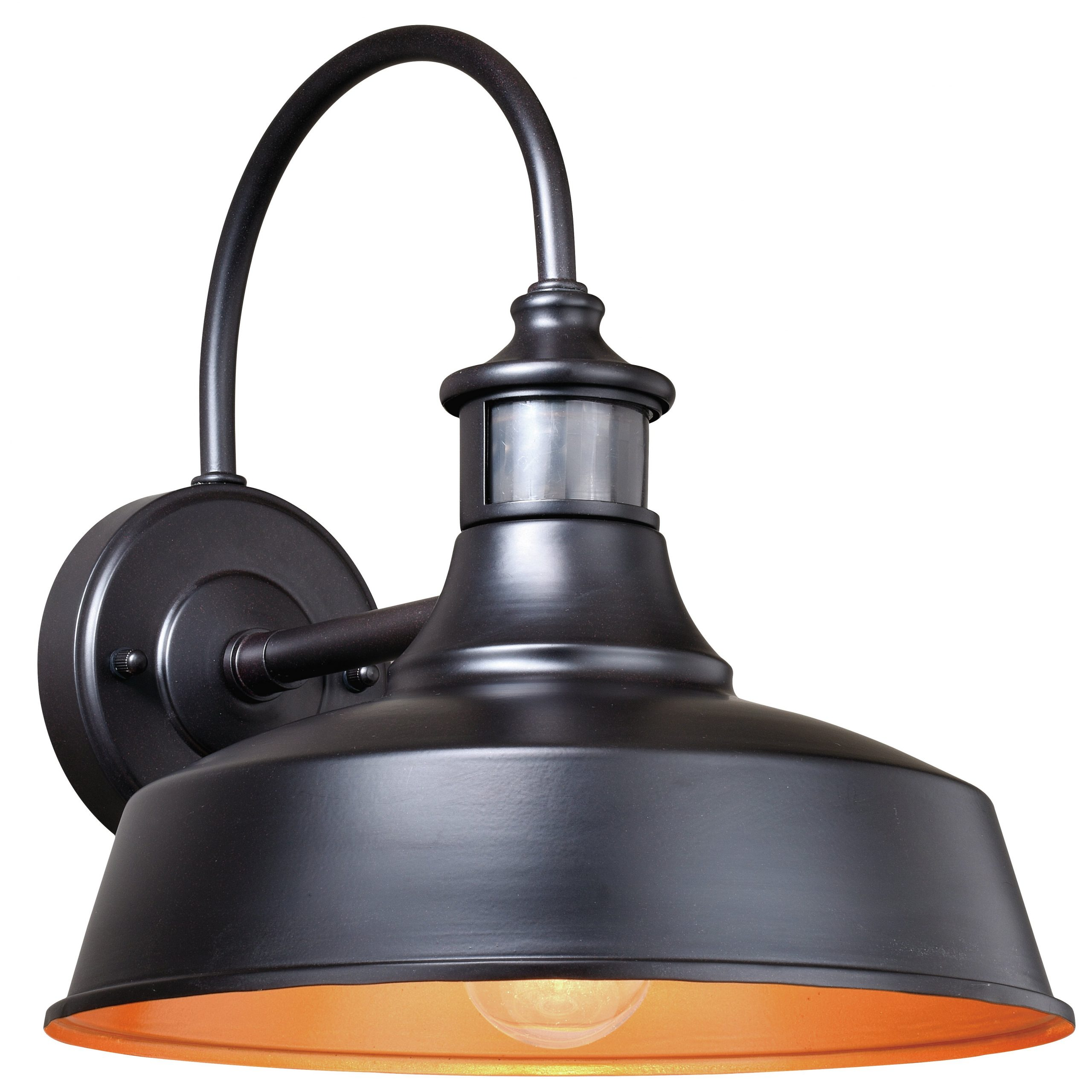 Ziebarth Outdoor Barn Light With Motion Sensor – Outdoor Within Popular Aleena Outdoor Barn Lights (View 7 of 20)