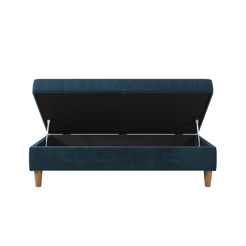 Zipcode Design Hephzibah Storage Ottoman & Reviews Inside Most Recently Released 3pc Hartford Storage Sectional Futon Sofas And Hartford Storage Ottoman Tan (View 17 of 20)