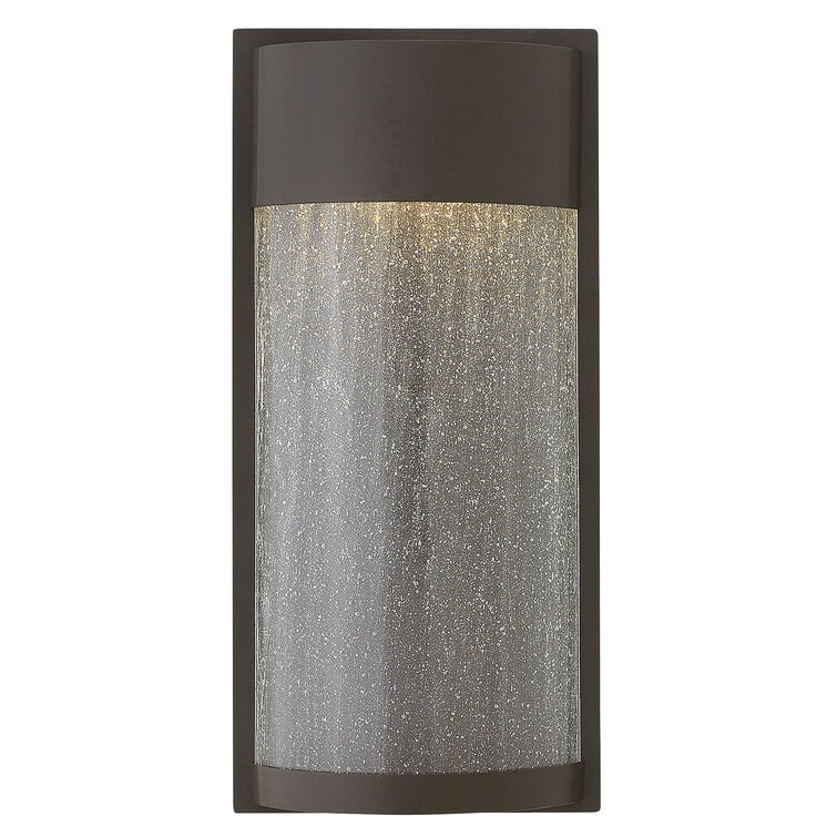 Integrated Led Seeded Glass Outdoor Flush Mount (View 5 of 5)