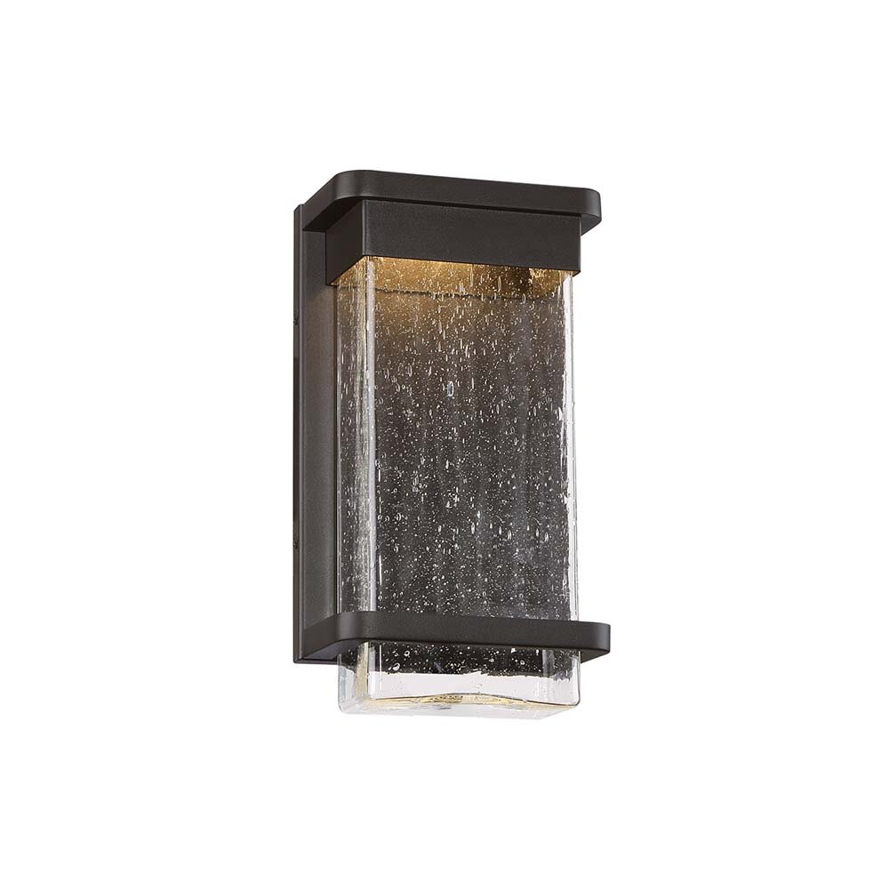 Modern Led Seeded Glass Outdoor Flush Mount (View 4 of 5)