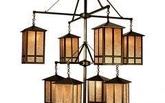 Indoor Lantern Chandelier