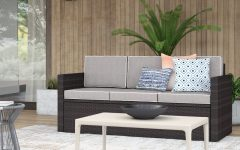 Belton Patio Sofas with Cushions