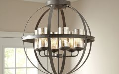 Donna 6-light Globe Chandeliers