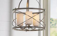 Farrier 3-light Lantern Drum Pendants