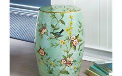Janke Floral Garden Stools