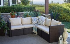 Larsen Patio Sectionals With Cushions