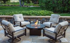 Patio Conversation Sets With Fire Pit Table