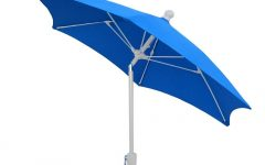 Patio Umbrellas with White Pole