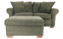 Loveseats with Ottoman