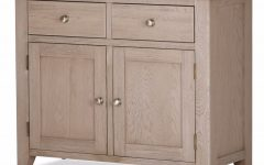 2-Door White Wash Sideboards