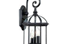Keiki Matte Black Outdoor Wall Lanterns