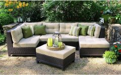 Patio Sectional Conversation Sets