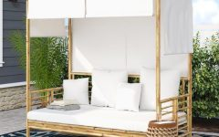 Aubrie Patio Daybeds With Cushions