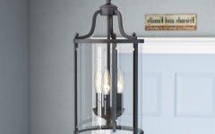 Tessie 3-Light Lantern Cylinder Pendants