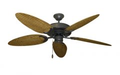 Bamboo Outdoor Ceiling Fans