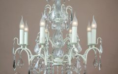 Large Cream Chandelier