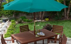 Patio Furniture with Umbrellas