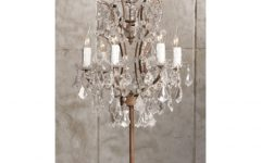 Small Chandelier Table Lamps