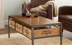 Vintage Wood Coffee Tables