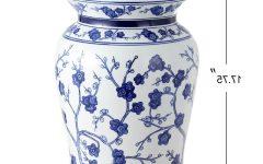Wiese Cherry Blossom Ceramic Garden Stools