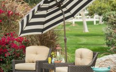 Black And White Patio Umbrellas
