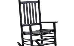 Black Rocking Chairs