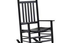 Black Rocking Chairs