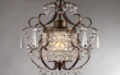 Bronze and Crystal Chandeliers
