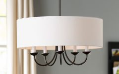 Burton 5-light Drum Chandeliers