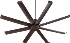 72 Predator Bronze Outdoor Ceiling Fans with Light Kit