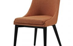 Carlton Wood Leg Upholstered Dining Chairs