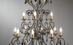 Cast Iron Chandelier