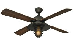 Hugger Outdoor Ceiling Fans With Lights