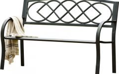 Celtic Knot Iron Garden Benches