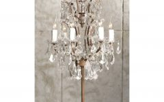 Crystal Chandelier Standing Lamps