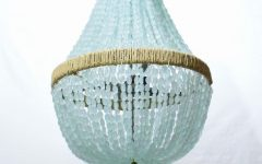 Turquoise Chandelier Lamp Shades