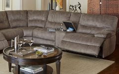 Jedd Fabric Reclining Sectional Sofas