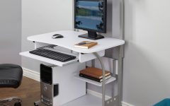 Computer Desks With Printer Shelf