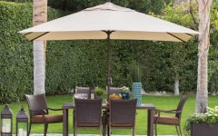 Patio Umbrellas with Table