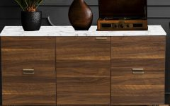"Pitzer 47.91"" Wide 4 Drawer Wood Sideboards"
