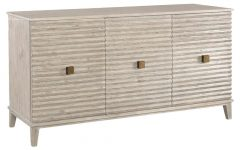 Corrugated White Wash Sideboards