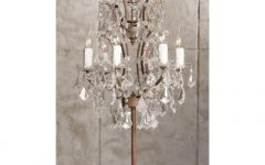 Mini Chandelier Table Lamps