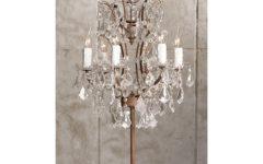 Mini Chandelier Table Lamps