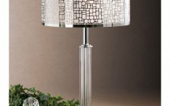 Crystal Living Room Table Lamps