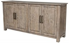 Brown Wood 72 Inch Sideboards