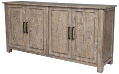 Brown Wood 72 Inch Sideboards