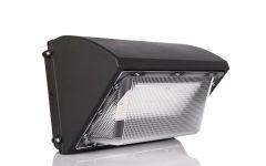 Vernie Black Integrated Led Outdoor Bulkhead Lights