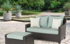 Northridge Loveseats with Cushions