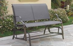 Patio Furniture Rocking Benches